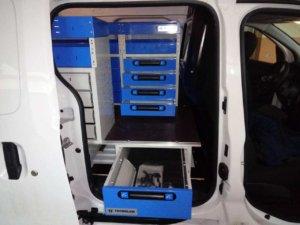 Cassettiere sottopianale furgoni