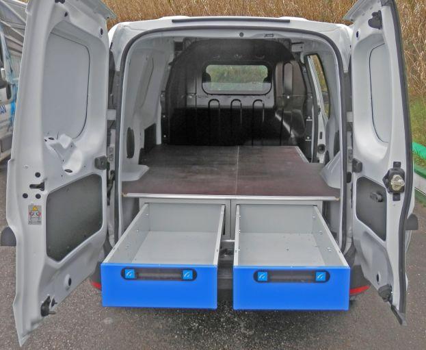 Allestimento sottopianale furgoni