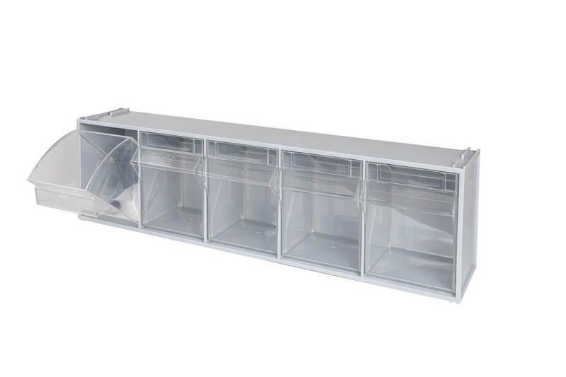 casssettier trasparenti