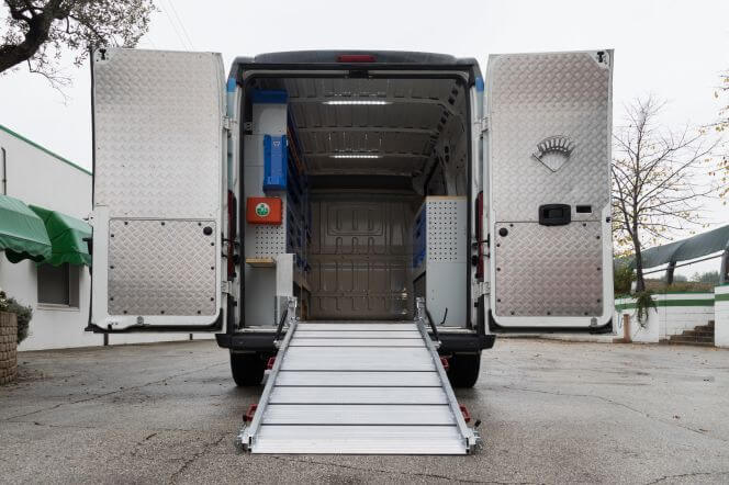 rampa per furgoni tecnolam