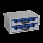 Cassettiera con due valigette Tecnolam