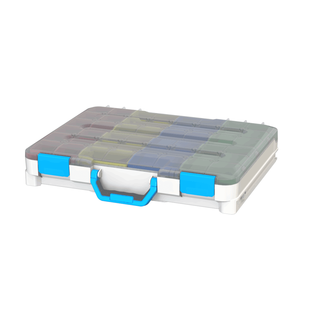 valigetta in plastica chiusa per furgoni