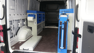 Allestimento veicolo commerciale vw crafter