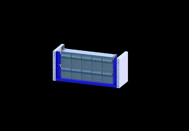 arredamento per veicoli commerciali cassettiera trasparente