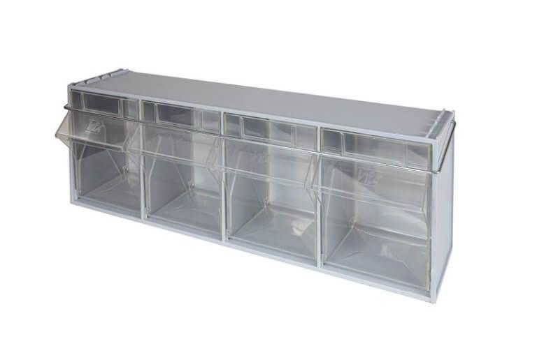 cassetti trasparenti furgone