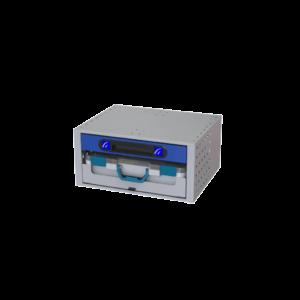 Cassettiera 507*241*360 con 1 Vassoio 1 valigia in plastica e un cassetto ideale per ordinare al meglio il tuo furgone